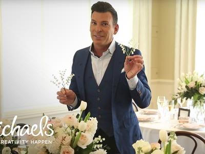 DIY Wedding Floral | David Tutera | Michaels