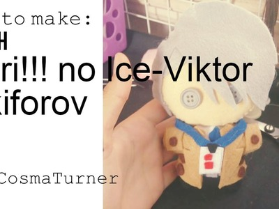 DIY Yuri!!! no Ice-VIKTOR NIKIFOROV. How To Make Chibi Plush.