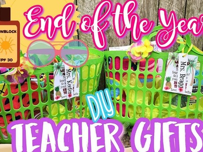 End of the Year Teacher Gifts | DIY Affordable Gift