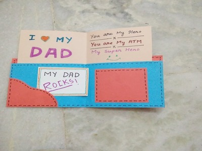 Father's Day Special: DIY Wallet Message Greeting Card | Tukkutv