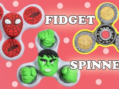 Fidget Spinner Compilation | DIY Easy Spinners | Superhero Spinners