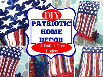 FOURTH OF JULY HOME DECOR DIY