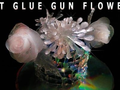 How to make HOT GLUE GUN FLOWERS DIY CRAFTS