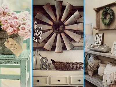 ????Vintage & Rustic Shabby Chic DIY Room Decor ideas. Interior Design. Flamingo Mango????