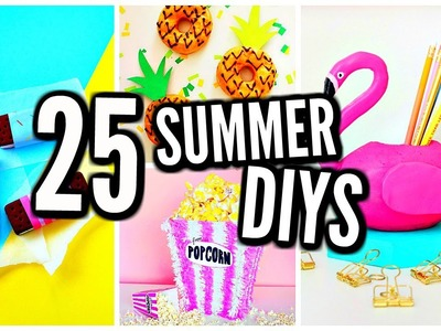 25 DIY Summer Projects: Clothes, Room Decor, Treats, Drinks