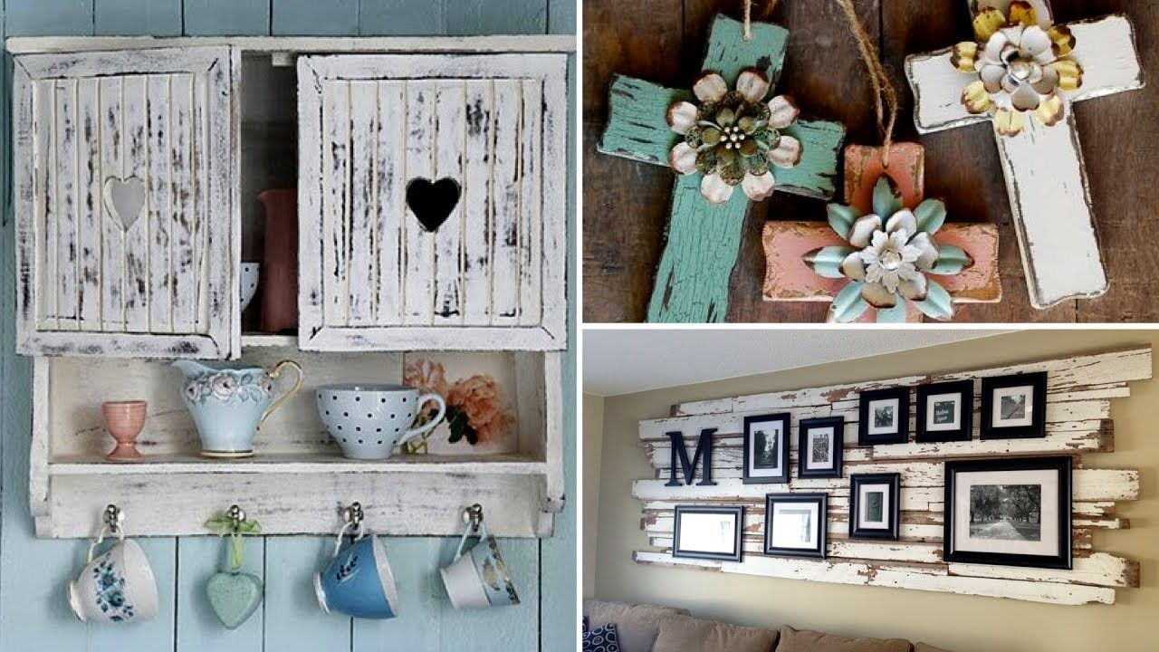 30 Amazing DIY Rustic Wood Home Decor Ideas 2017