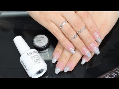 DIY: HOLOGRAPHIC UNICORN FRENCH TIP NAILS