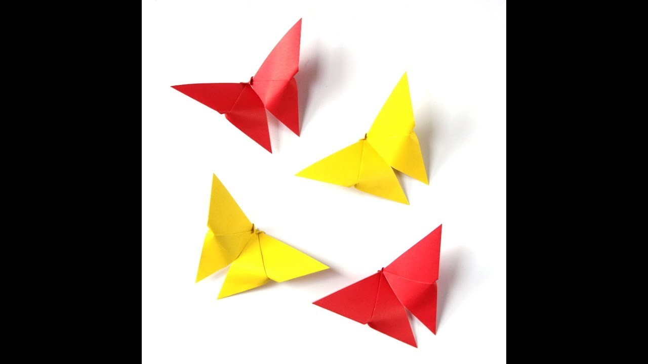 DIY origami butterfly Easy
