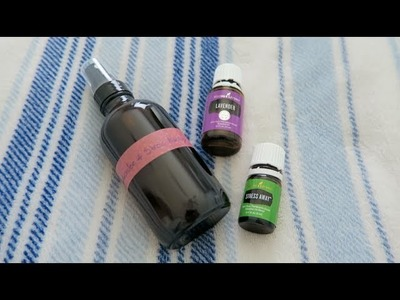 DIY Relaxing Pillow Spray