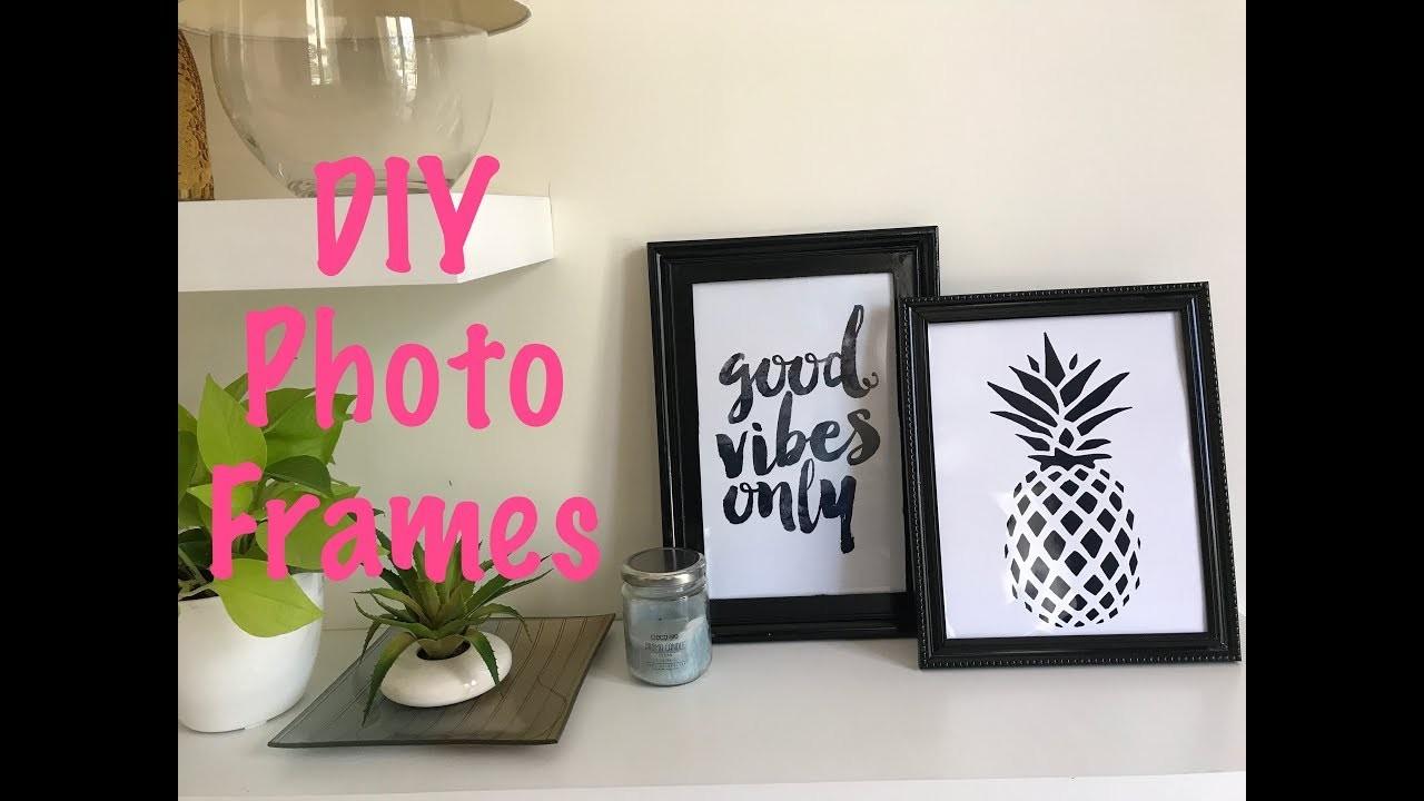 DIY Room Decor Frames