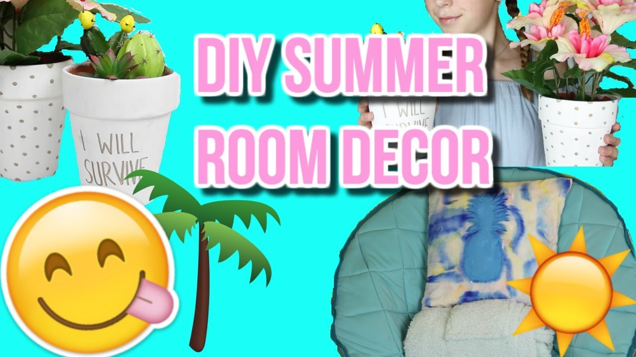 diy summer room decor pinterest inspired diys piperdiy. Black Bedroom Furniture Sets. Home Design Ideas