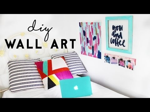 DIY Wall Art Budget Room Decor For Dorm Rooms My Crafts And DIY Projects