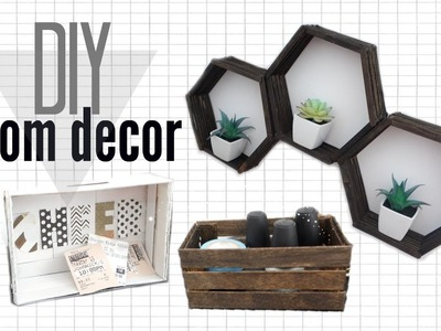 DOLLAR STORE DIY ROOM DECOR