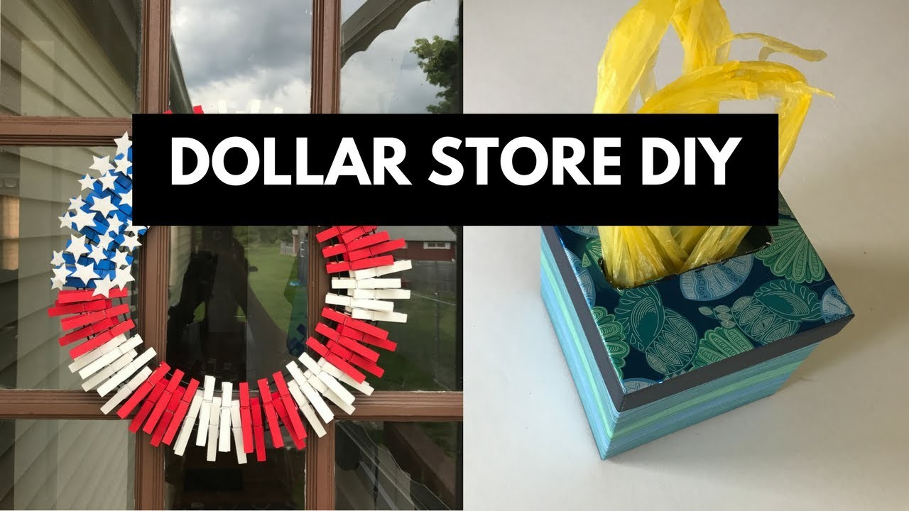Dollar Tree DIY - Summer decor and Storage ideas ...