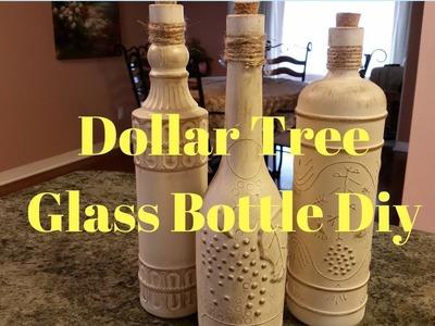 Dollar Tree Glass Bottle Diy