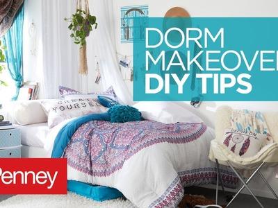 Dorm Room Makeover: DIY Dorm Room Organization Ideas | JCPenney