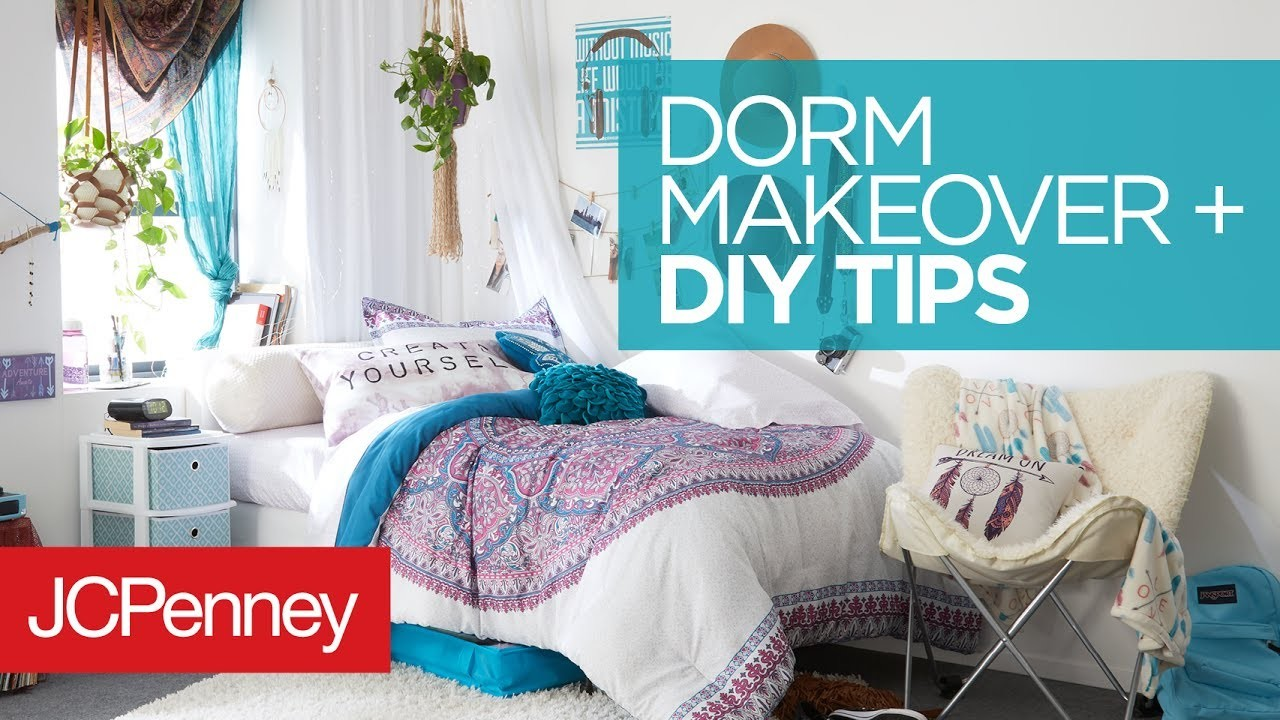 Dorm Room Makeover DIY Dorm Room Organization Ideas JCPenney My Crafts And