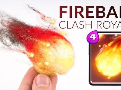 Fireball (Clash Royale) – Polymer Clay.Wool Tutorial