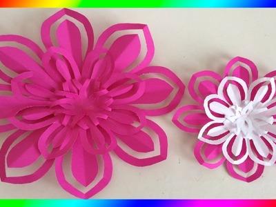 Flores???? Flores de papel????paper flowers????  manualidades de papel????Paper crafts