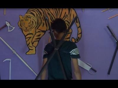 How to make a Paper Sword | Ninja Sword Tutorial