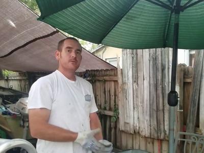 How to make a umbrella stand cheap DIY