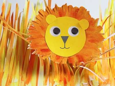 How to make this simple paper Lion.