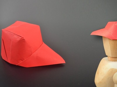 Origami: Paper Cap - Instructions in English (BR)