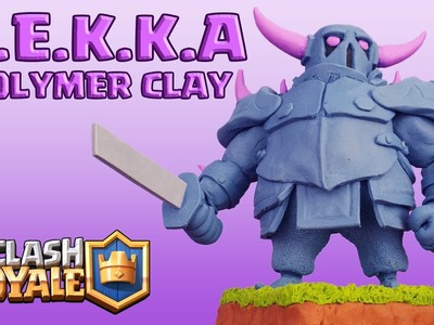 P.E.K.K.A (Clash Royale) - Polymer Clay Fimo Tutorial