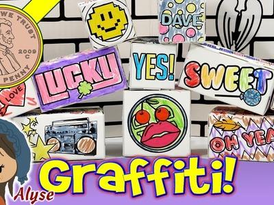 Paper Punk Color N' Build Graffiti Blocks Set - Crafting With Alyse!