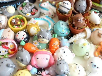 Polymer Clay Charms Update #15: We Bare Bears, Bentos & Balloons etc