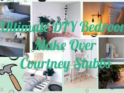 ULTIMATE DIY BEDROOM MAKE OVER - COURTNEY STUBBS