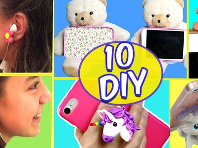3-Minute Crafts To Do When You're BORED! 10 DIY Cell phone crafts compilation |Easy DIY Crafts