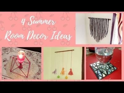4 Summer Room Decor Ideas|collab with Nusaiba's DIY|DIY Crafts with Mariyam