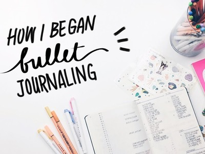 Bullet Journaling for Beginners (how I started my bullet journal) | WITHWENDY