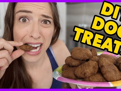DIY Healthy Dog Treats!!!