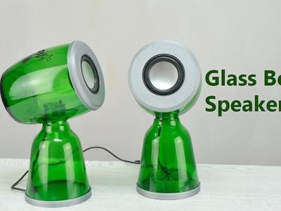 DIY USB Speakers from Glass Bottles