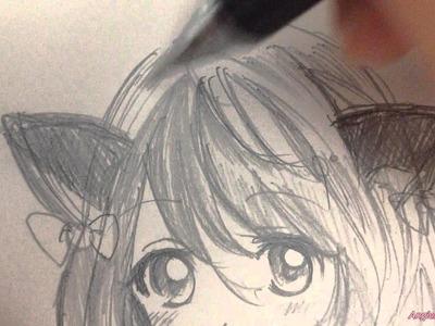 Draw a Manga Girl ????  畫漫畫吧!
