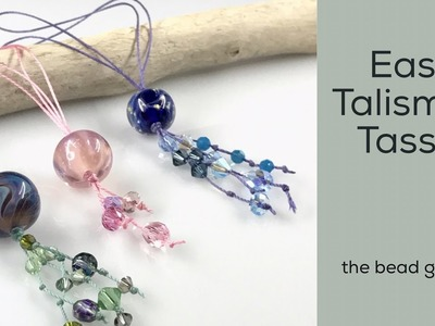 Easy Talisman Tassel at The Bead Gallery