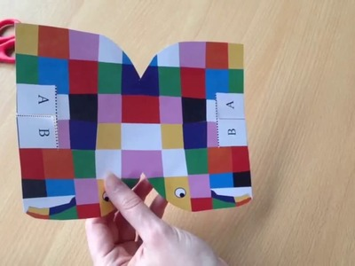 Exeter Library Craft 02: How To Make An Elmer Elephant