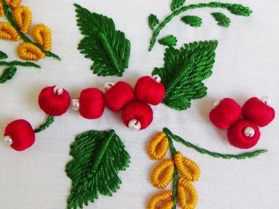 Hand Embroidery: Stump Work