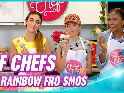 Hanging With - BF Chefs: Rainbow Fro Smos - Disney Channel Official
