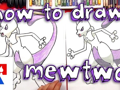 How To Draw Mewtwo