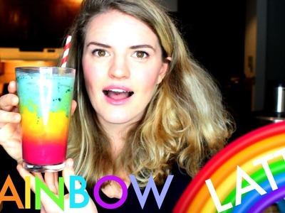 How to Make a Rainbow Latte