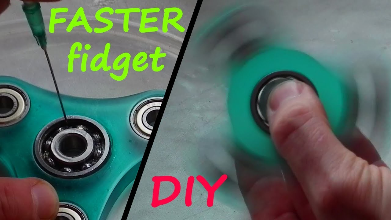 How to speed up your Fidget Spinner !!! DIY