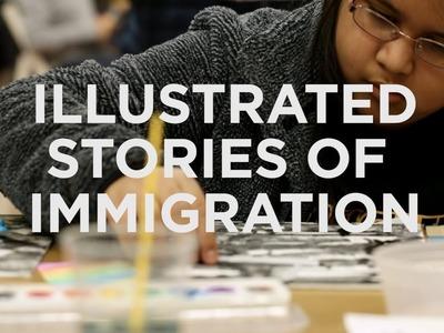 Kids Craft Comics To Explore Immigration Fears | NPR Ed | NPR