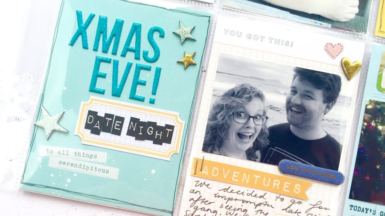 KIT CRASHERS #10 ~ Christmas Eve Project Life Process Video + + + INKIE QUILL