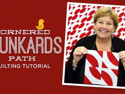 Make a Cornered Drunkard's Path Quilt with Jenny!