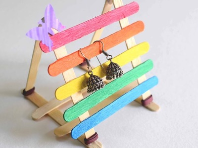 Pop Stick Earring Stand. Pop Stick Stand. Rainbow Icecream Stick Stand