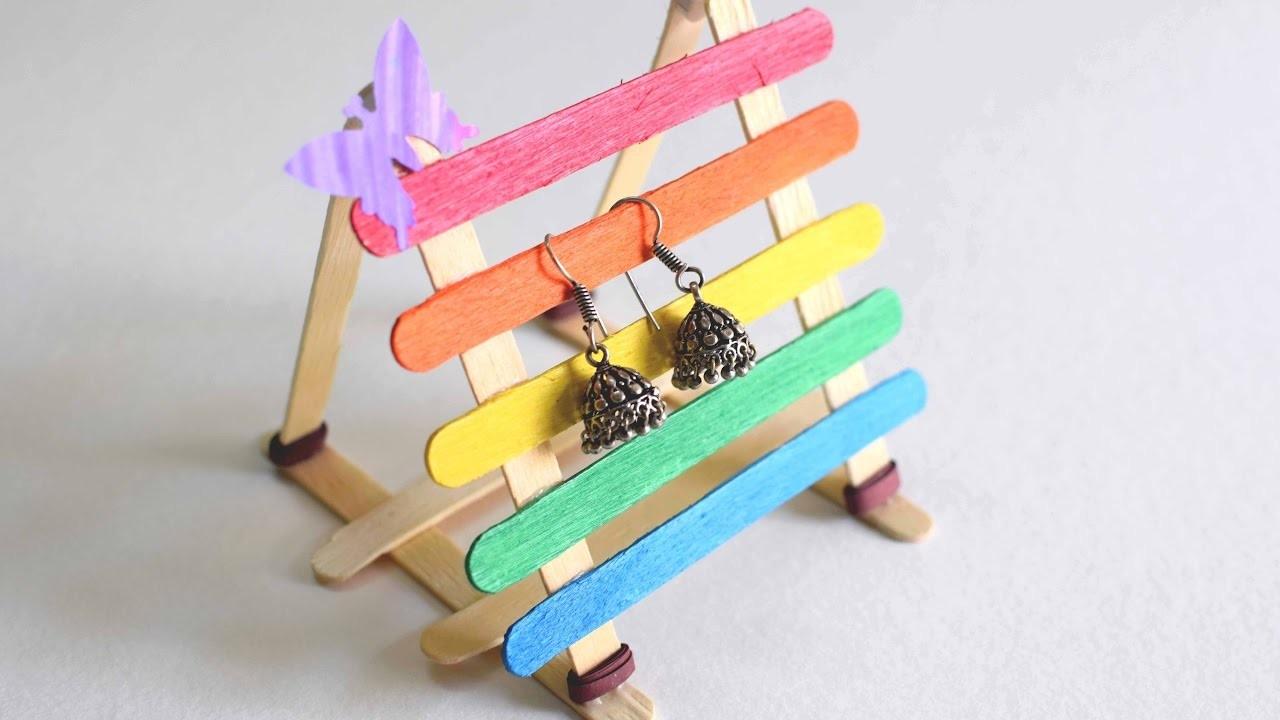 Pop Stick Earring Stand. Pop Stick Stand. Rainbow Icecream Stick Stand