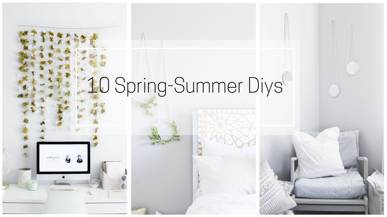 SPRING|SUMMER 10 DIYS DECOR IDEAS